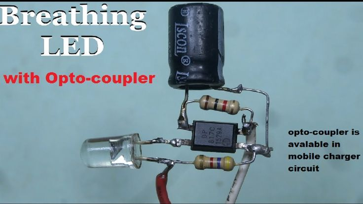 Breathing Led With Opto Coupler In 2020