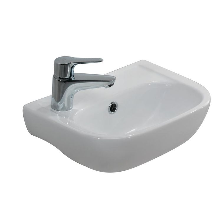 Barclay petite white top mount bath sink, video of disabled person sex