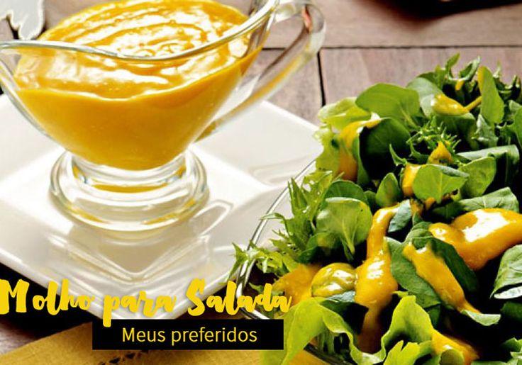 Molho para salada: os 10 preferidos! Molho agridoce, molho caprese, molho oriental, molho italiano, molho de ervas secas, molho de manjericão e muito mais!