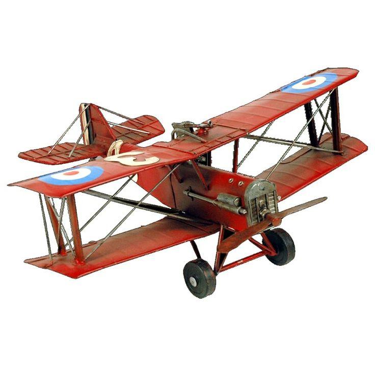 Aviones antiguos, maquetas metal.