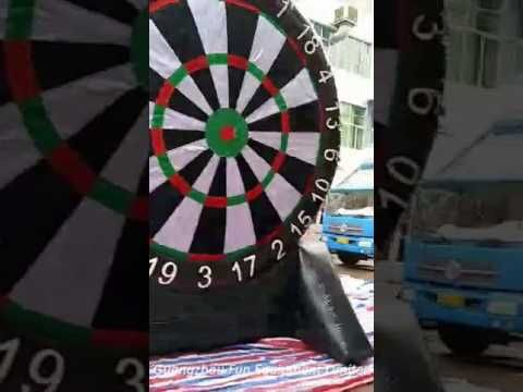 4mH inflatable soccer dart game for sale