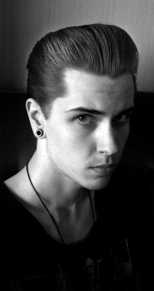 Fine 1000 Images About Men39S Pompadour On Pinterest Hairstyles Short Hairstyles Gunalazisus