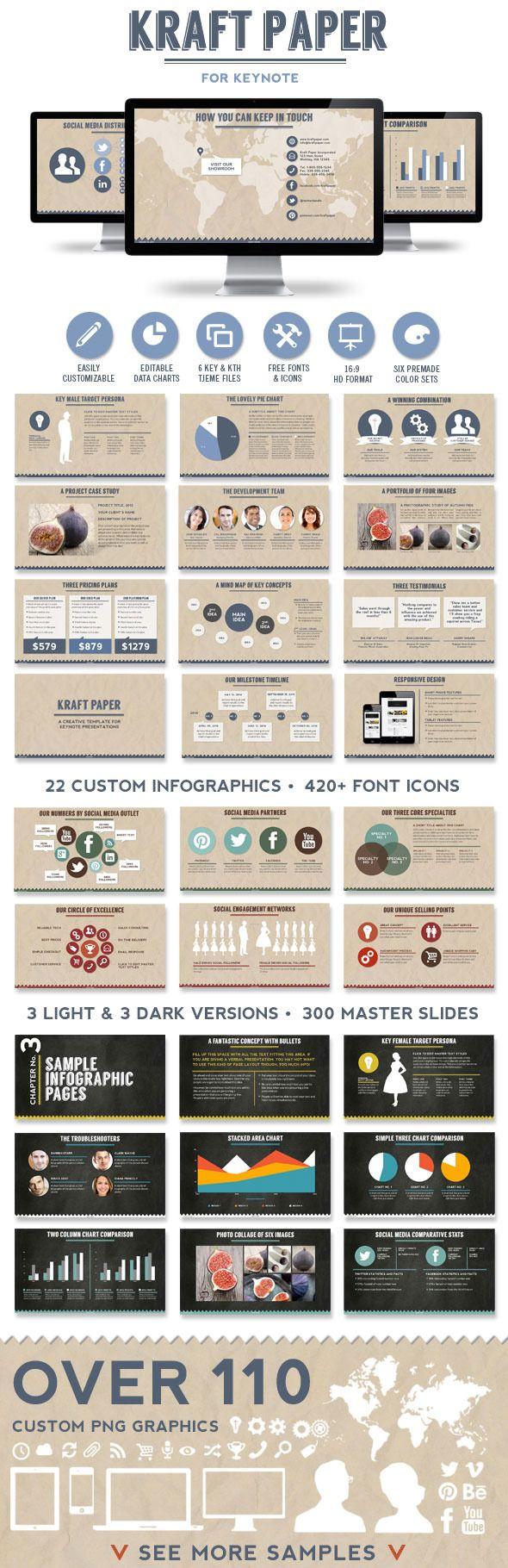 Kraft Paper Keynote Presentation Template #keynote #keynotetemplate #presentation Download: http://graphicriver.net/item/kraft-paper-keynote-presentation-template/6748850?ref=ksioks