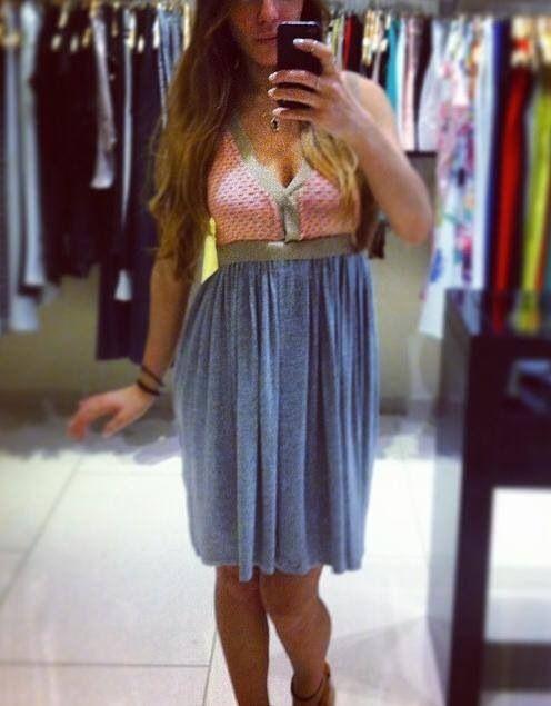 Two-Tone cute Dress