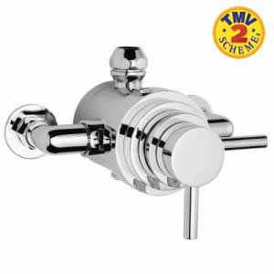 Trueshopping Dual Exposed Thermostatic Shower Valve