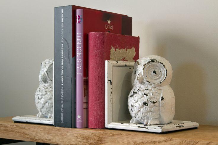 Podpórki do książek sowy- Parlane aranżacja Inne Meble