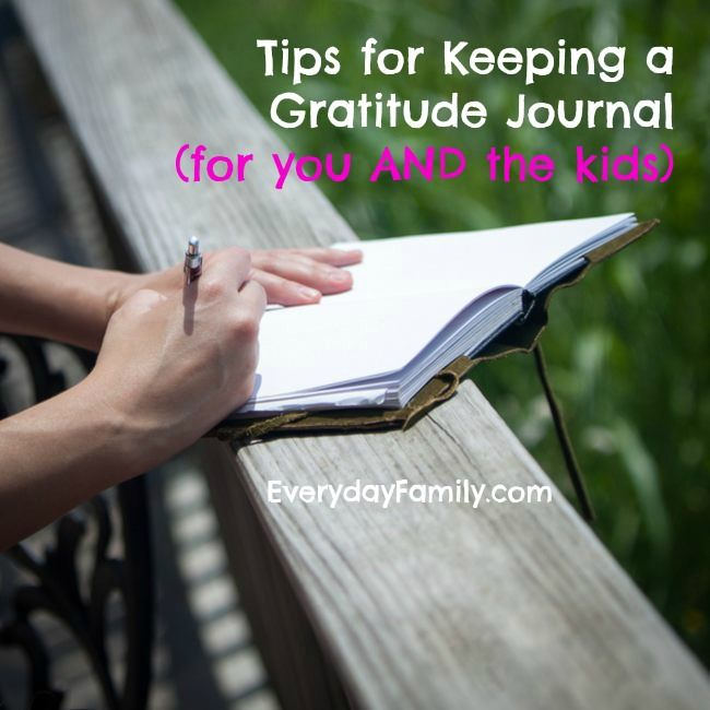 Gratitude journals are a great way to teach kids to appreciate what they have.