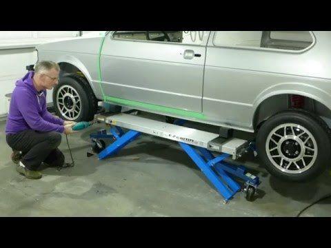 Portable Car Lift Unboxing & Review Part 1 - EZCarlift - YouTube