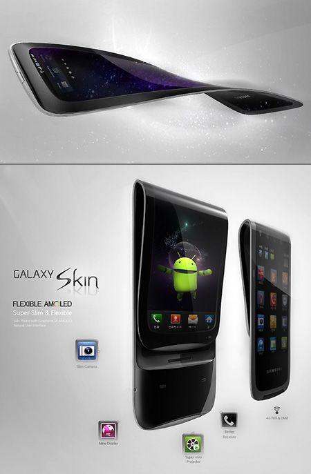 #Samsung #GalaxySkin flexible is getting #Realer via Tech Planets