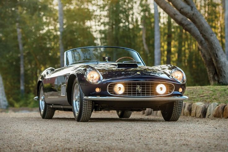 Wearing number 19 in the 1962 Osceola Grand Prix, this 1958 Ferrari 250 GT LWB California Spider is as comfortable racing around the track as it is cruising down the coastline.