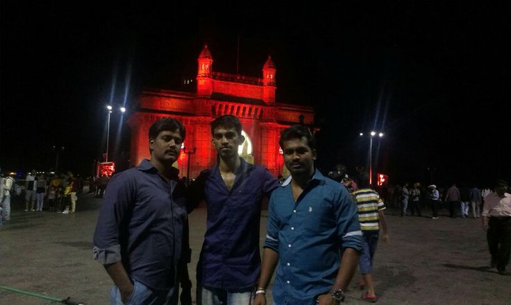 Me with Sree nd Mukund...
