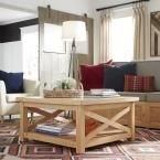 Country Lodge Pine (Green) Coffee Table