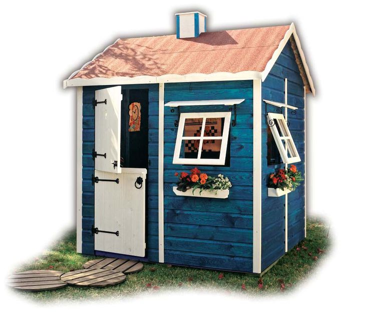 1000 ideas about playhouses for girls on pinterest for Boys outdoor playhouse