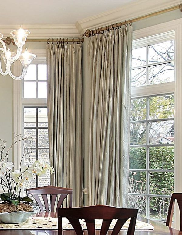 What Are The Different Types Of Draperies Dining Room Window Treatments Window Treatments Living Room Custom Dining Room
