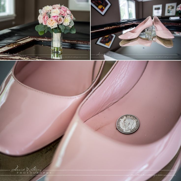 Pink Shoes, Pink flowers, beautiful Pink details.