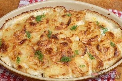 Batatas dauphinoise.