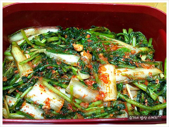 열무김치 한통으로 든든합니다^^ – 레시피 | Daum 요리