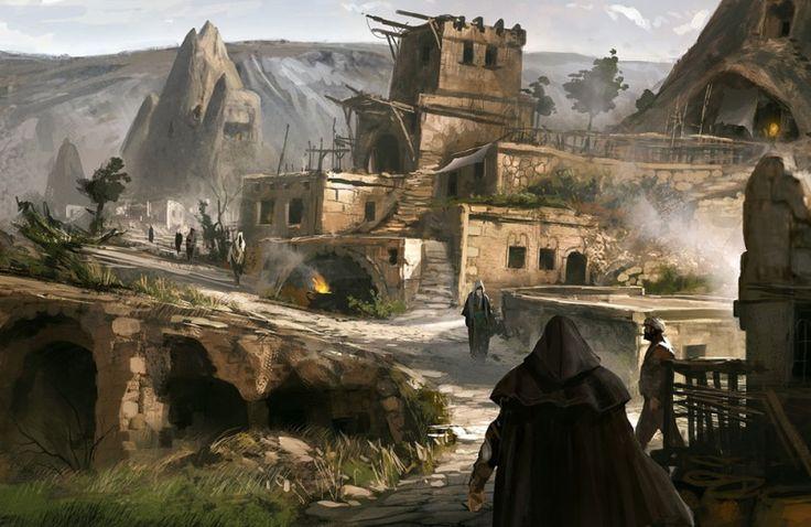 Картинки по запросу assassin's creed 1 art