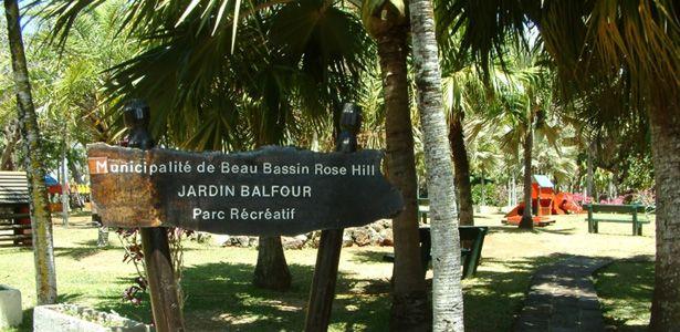 Le jardin Balfour