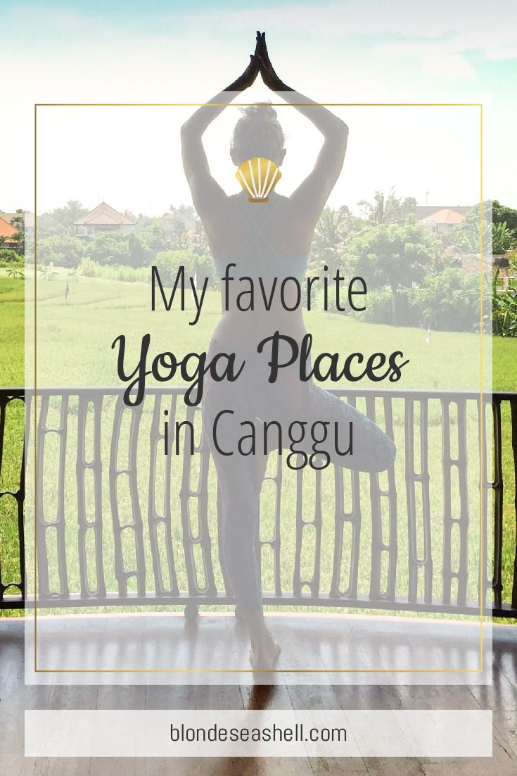 Best Yoga places in Bali Canggu. Yoga in Bali is a must. Read this list on where to go in Canggu.