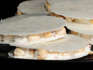 Turrones de miel, caramelo y avellanas - Receta:Angelita Alfaro- El Gourmet- Dulces navideños