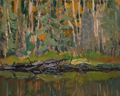 J.E.H. MacDonald Mongoose Lake, Algoma 1920