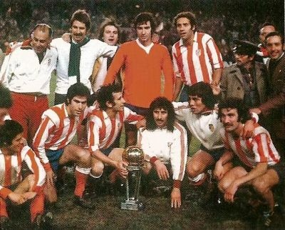 Atletico de Madrid, campeón intercontinental 1974.