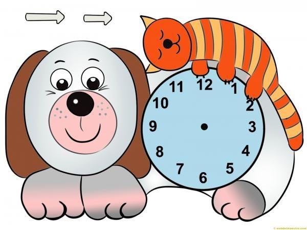 Relojes Para Armar Tangram Patterns Clock Craft Teacher Life