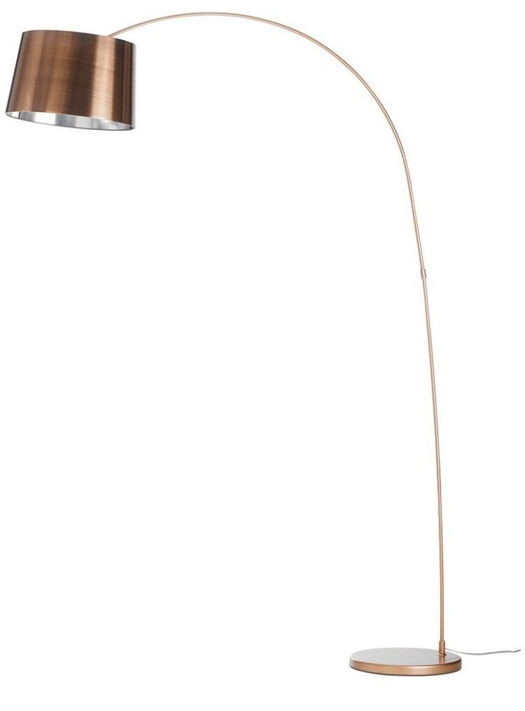 BoConcept Kuta floor lamp in brushed copper finish. Seller had this for about a…