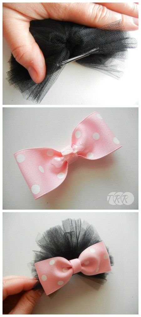 Minnie Mouse Ears Puff Bows - The Ribbon Retreat Blog
