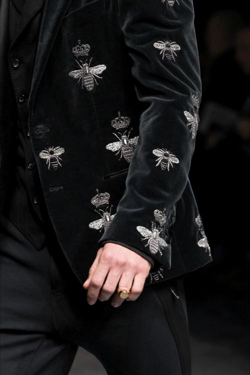 Dolce & Gabbana Fall 2015 Menswear Fashion Show