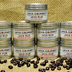 Java Rubs from Java Gourmet. Great for seasoning meats, poultry, seafood.