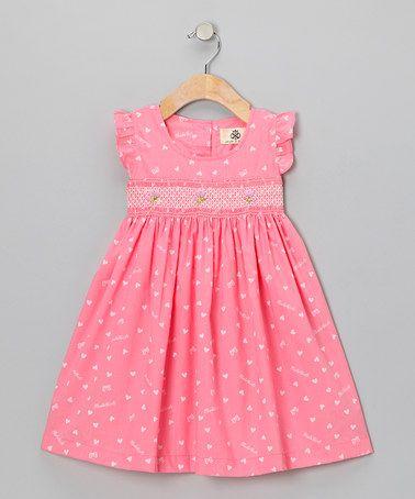 Pink Heart Dress - Infant & Toddler