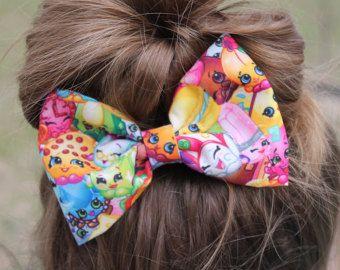 Arco de arco de pelo de Shopkins, shopkins, Shopkins inspirado en arco, arco del pelo de las niñas, amapola de maíz shopkins, shopkins tela arco, arco del pelo de las niñas, venta