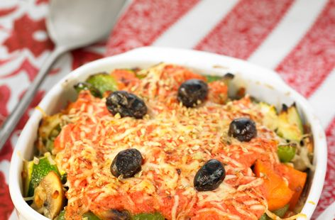Andalusian Lentil and Courgette Bake - Tesco Real Food - Tesco Real Food