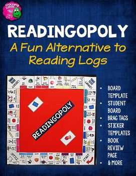 READINGOPOLY: An Alternative Reading Log ProgramAre you looking for a program that gets students excited about reading?  Are you tired of chasing students down to get them to complete a reading log?  Do you want to be able to differentiate what the students are reading but still provide student choice?