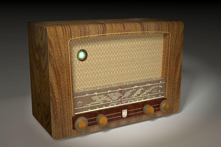 Old Philips radio! Wauw