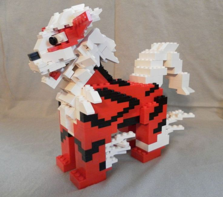 Unofficial Lego pro Dan McCormack created intricate Lego sculptures of all his favorite Pokémon characters.