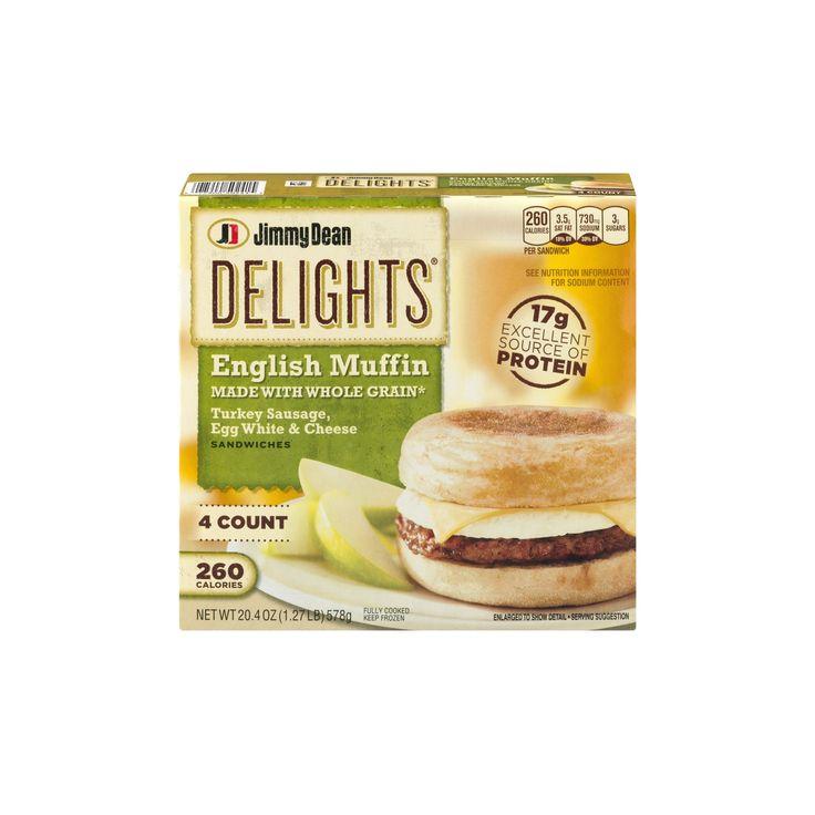 Jimmy dean turkey sausage breakfast sandwich 1 sandwich