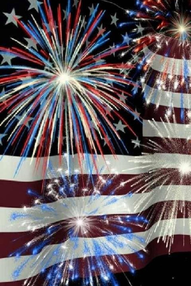 17 best images about 4th of july on pinterest red white blue 4th of july nails and memorial day - Fourth of july live wallpaper ...