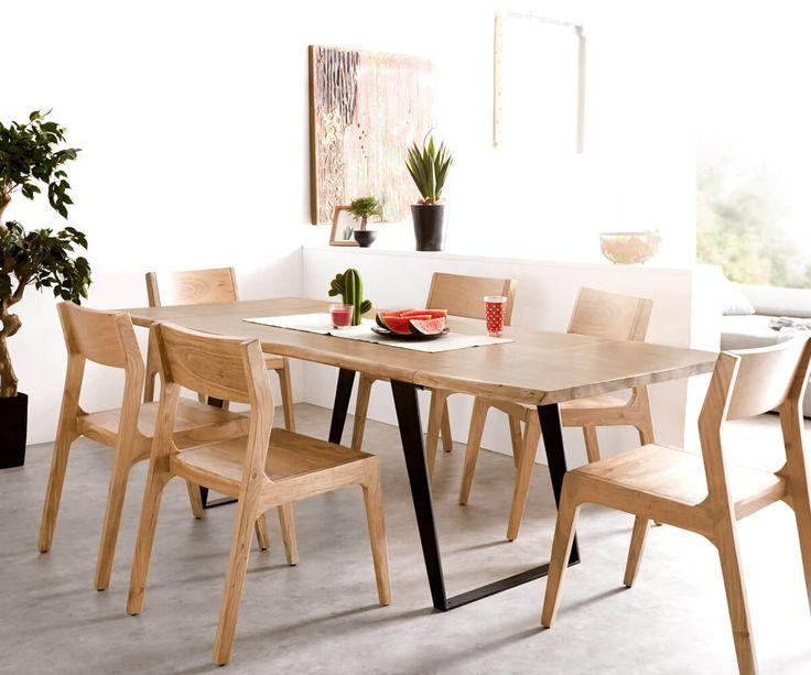 osted esstisch - home design - Massivholzmobel Ideen Esstisch Baumstamm