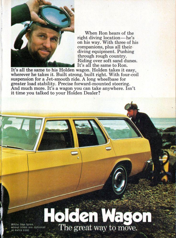 https://flic.kr/p/M6TAPn | 1973 HQ Holden Kingswood Wagon Page 2 Aussie Original Magazine Advertisement