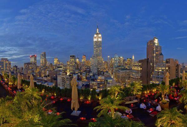 230 Fifth Rooftop Garden Bar And Restaurant Clubs Restaurants