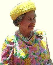 Елизавета II — английская королева с 1952, дочь Георга VI из Виндзорской династии - http://to-name.ru/biography/elizaveta-2.htm