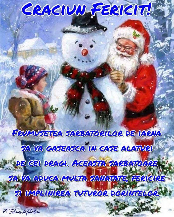 Frumusețea sărbătorilor de iarnă să vă găsească în case alături de cei dragi. Această sărbătoare să vă aducă multă sănătate, fericire și împlinirea tuturor dorințelor.
