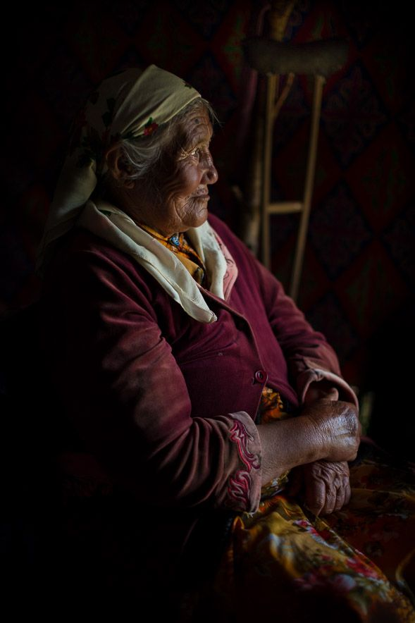 The kindest, sweetest Kazakh woman that I met in the Altai Mountains of western Mongolia.