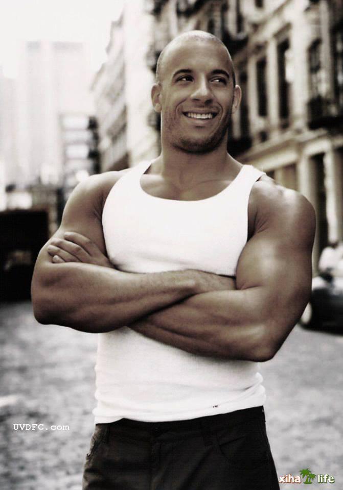 Vin Diesel.. Look at that man!!
