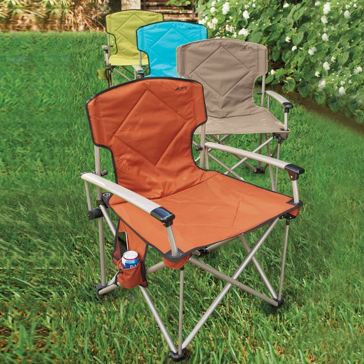 Folding Chairs Are Ideal For Beach And Camping Trips, And This Extra Wide  Design
