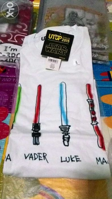 Uniqlo Star Wars UTGP 2015 Limited Edition Shirt For Sale Philippines - Find Brand New Uniqlo Star Wars UTGP 2015 Limited Edition Shirt On OLX