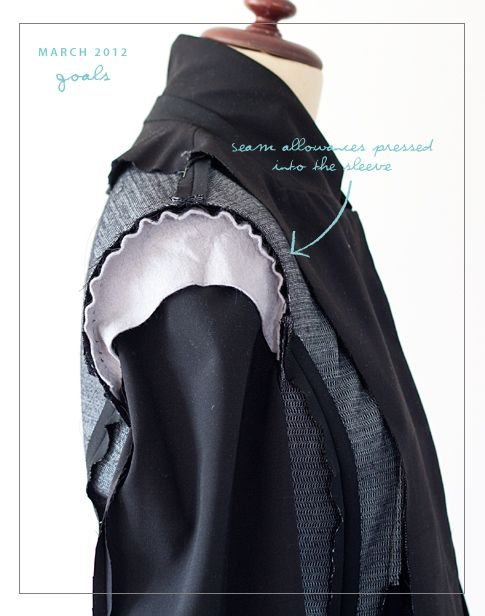 Goal 1 - Completed Tailored Jacket   Pattern RunwayPattern Runway